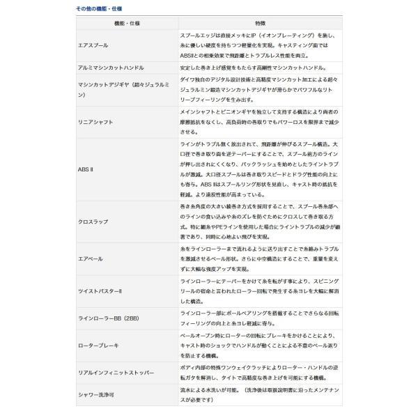 (c)【取り寄せ商品】ダイワ 月下美人 EX(1003RH)(スピニングリール)(2017年モデル)  /d1p9
