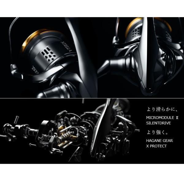 【エントリーでポイント10倍】(5) シマノ 18 ステラ C2500SHG (2018年モデル) スピニングリール|f-marunishi|05