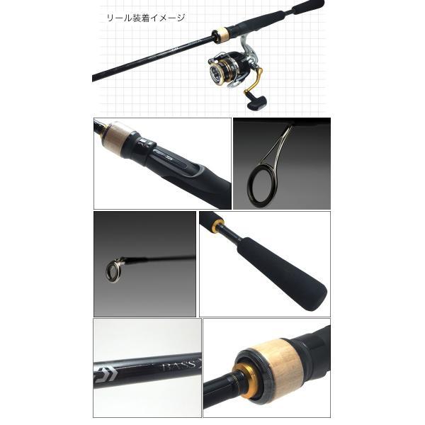 (5)DAIWA ダイワ ブラックバス釣り入門セット (スピニングモデル)(リール&ロッド)(BASS-X/クレストセット) f-marunishi 04