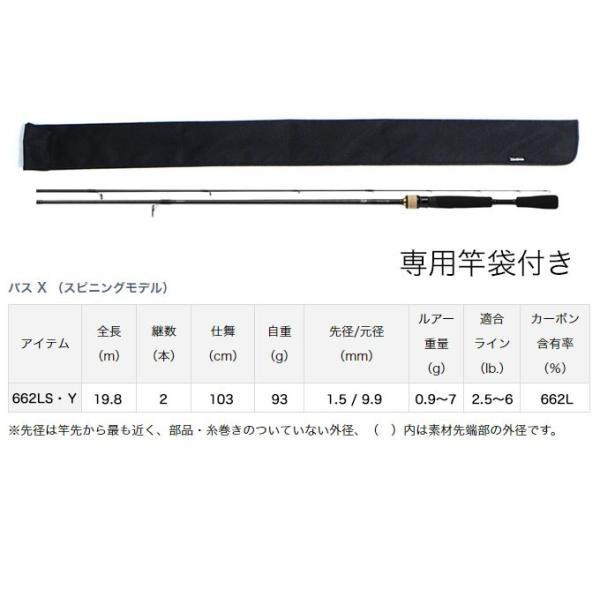 (5)DAIWA ダイワ ブラックバス釣り入門セット (スピニングモデル)(リール&ロッド)(BASS-X/クレストセット) f-marunishi 05