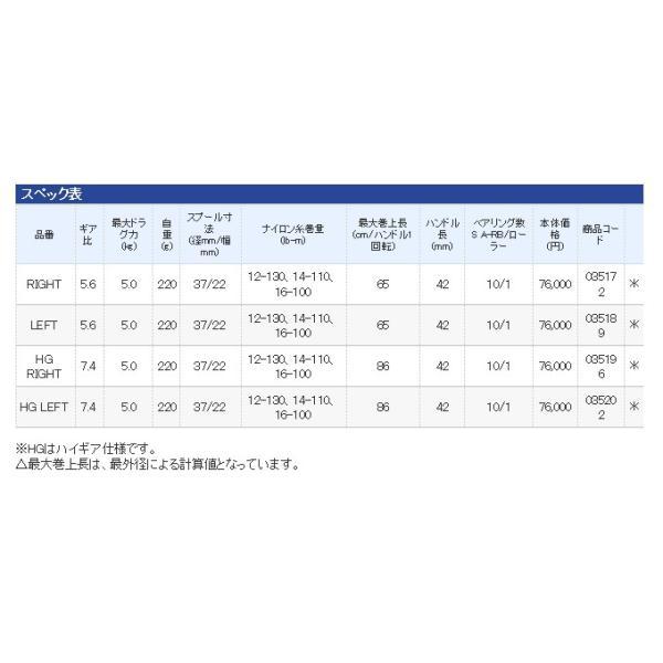 (5) シマノ 16 アンタレスDC HG RIGHT (右ハンドル)(2016年モデル)|f-marunishi|05