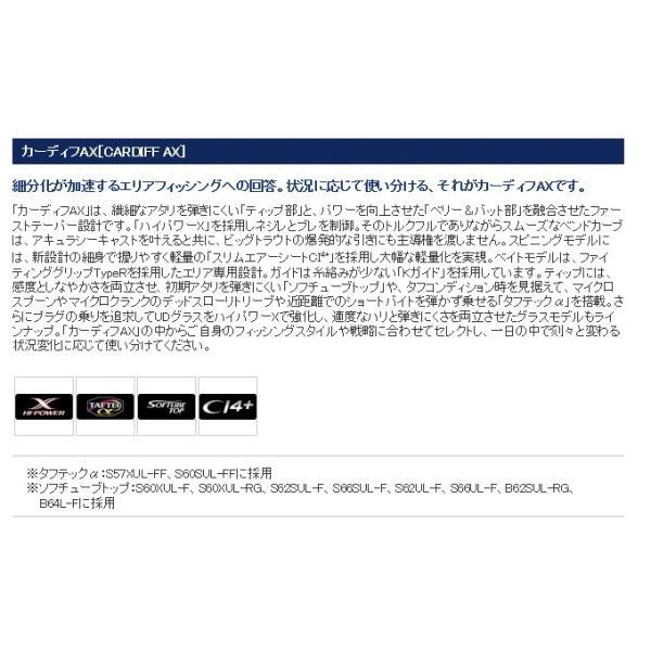 カーディフ シマノ S66SULF AX