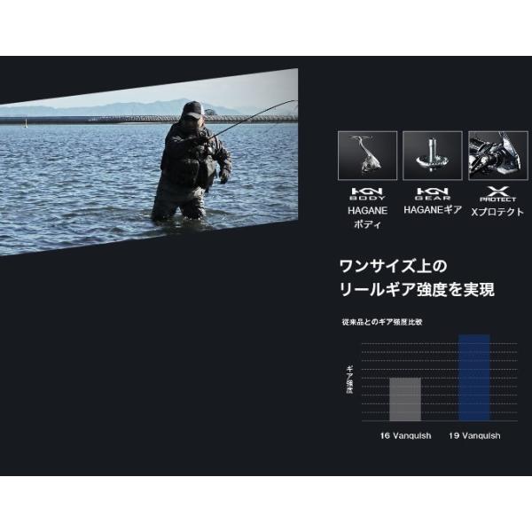 シマノ 19 ヴァンキッシュ C3000SDH (スピニングリール) 2019年モデル /(5)|f-marunishiweb2nd|06