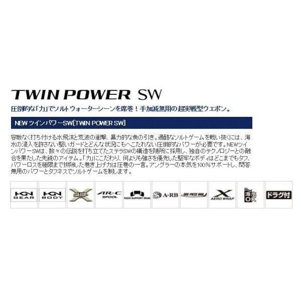 (5)シマノ ツインパワーSW (6000HG)(2015年モデル)
