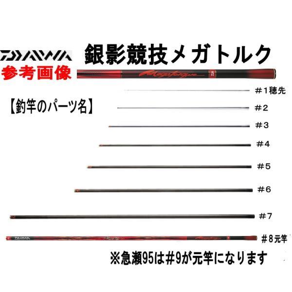 062218501 銀影競技メガトルク急瀬抜90・V #1(本体穂先)