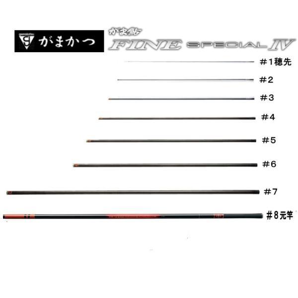 23019906がま鮎ファインスペシャル4赤/XH90     #6(上から6番目節)