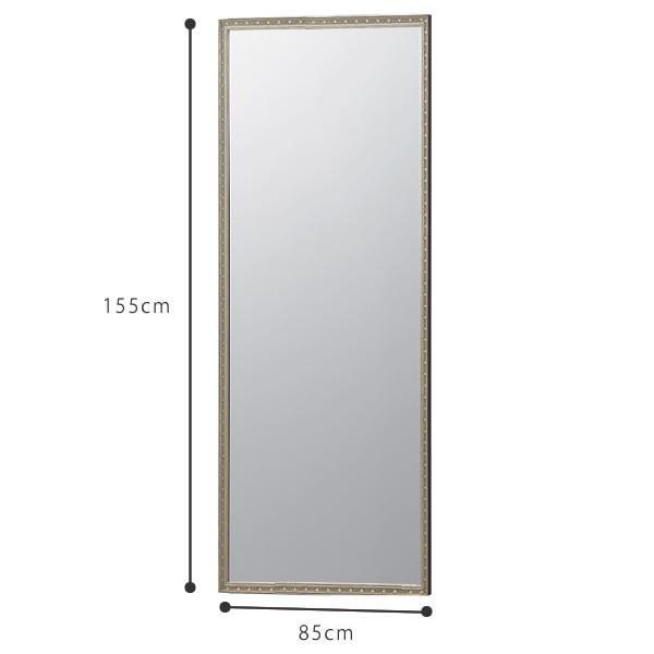 割れない鏡 鏡 高精細 全身鏡 フィルムミラー リフェクスクアードロミラー 85×155cm 壁掛け 立掛け ミラー 鏡 リフェクス REFEX NRM-6 f-news 02