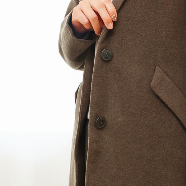 コート レディース チェスターコート アウター 冬 大きいサイズ 84丈 94丈 f-odekake 15