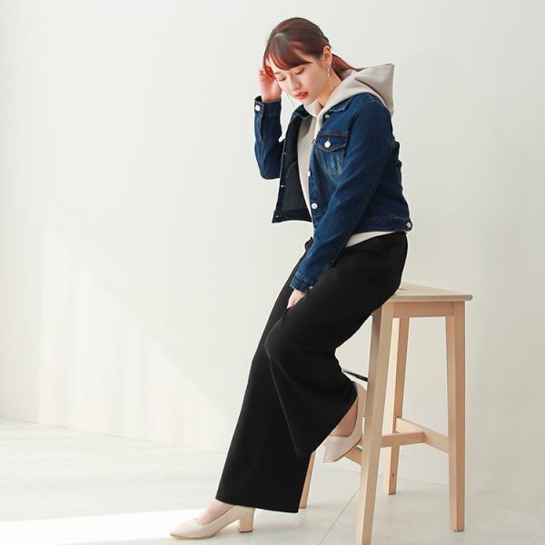 デニムジャケット Gジャン ジージャン コンパクト  レディース 大きいサイズ f-odekake 10