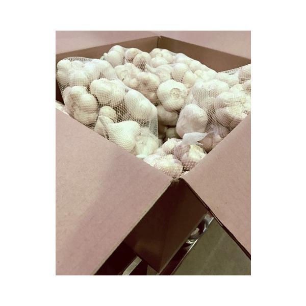 送料無料! 業務用 青森産新物にんにく B級品 Lサイズ 10kg 国産 送料込|f-oishii|06