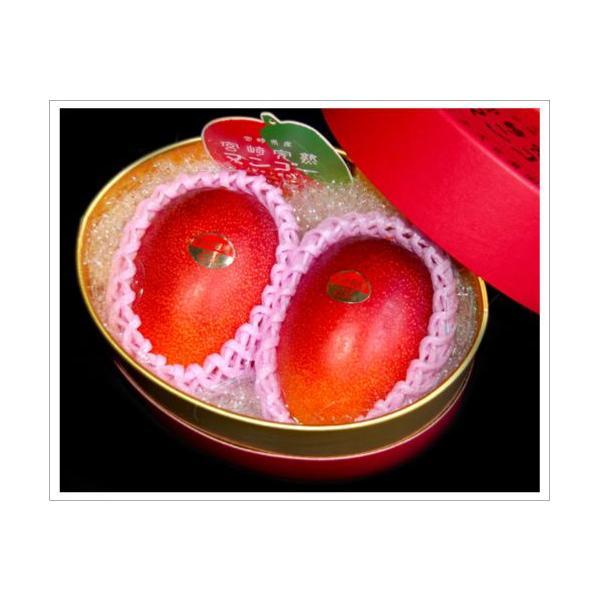 全国送料無料! 農家直送 大隈農園の完全無農薬・有機栽培 宮崎完熟マンゴー(Mango) 2玉4L 化粧箱|f-oishii|03