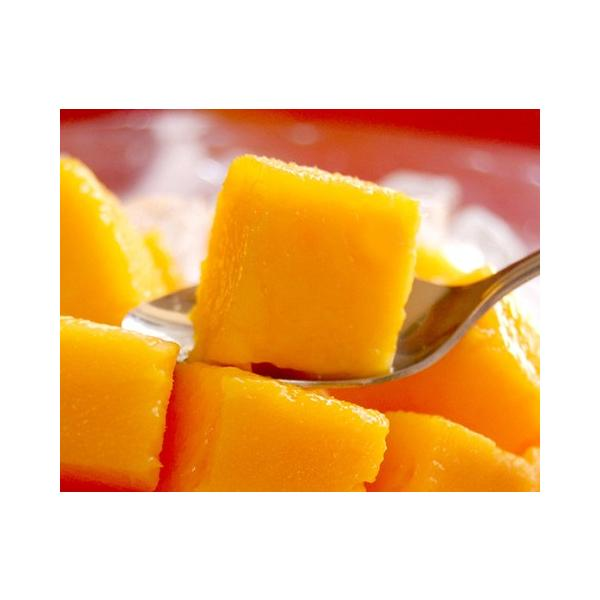 全国送料無料! 農家直送 大隈農園の完全無農薬・有機栽培 宮崎完熟マンゴー(Mango) 2玉3L 化粧箱|f-oishii|04