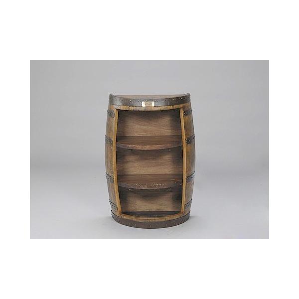 ウイスキー樽家具 ラックキャビネット(ナチュラル) (代引きはご利用出来ません)【安心の日本製】