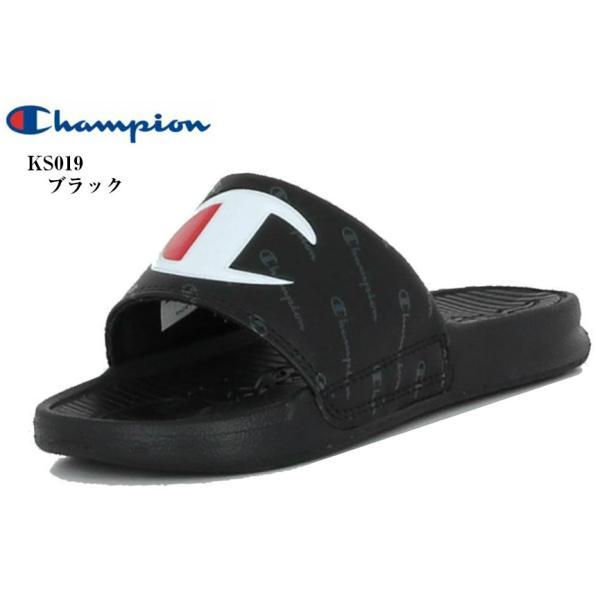 (Champion) CP KS019 チャンピオン KIDS SLEIGH リゾート シャワー サンダル 足なじみの良いフットベッド キッズ ジュニア
