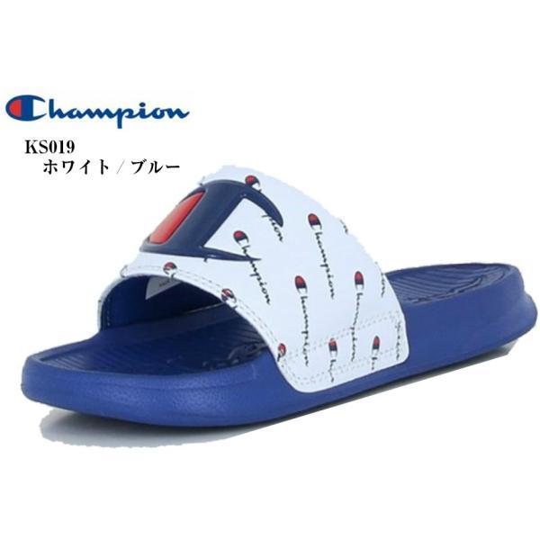 チャンピオン (Champion) CP KS019 KIDS SLEIGH リゾート シャワー サンダル 足なじみの良いフットベッド キッズ ジュニア