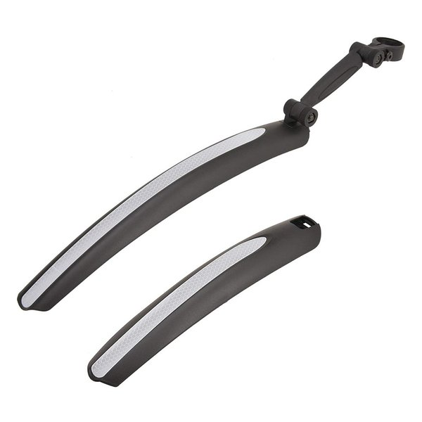 自転車用アクセサリー 自転車用パーツ 泥除け 前後 泥よけ 前後フェンダー 角度調整可能 反射テープ付 CANOVER カノーバー K011