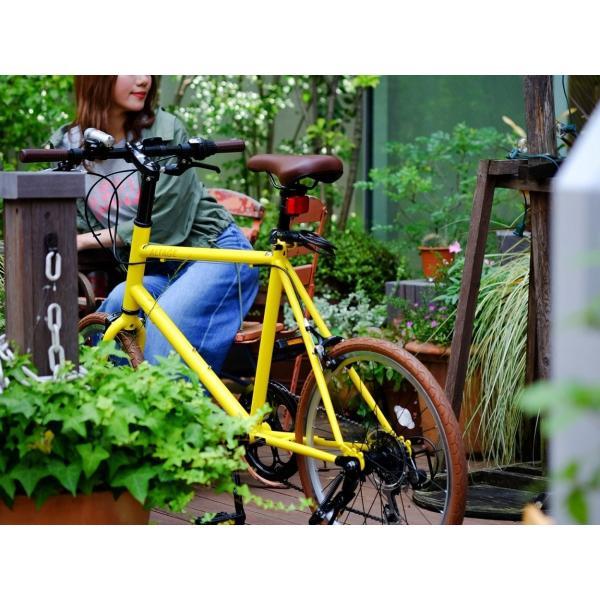 ミニベロ 小径自転車 20インチ シマノ7段変速ギア LEDライト カギ スマホホルダー プレゼント ALTAGE アルテージ AMV-001 組立必要品|f-select|18