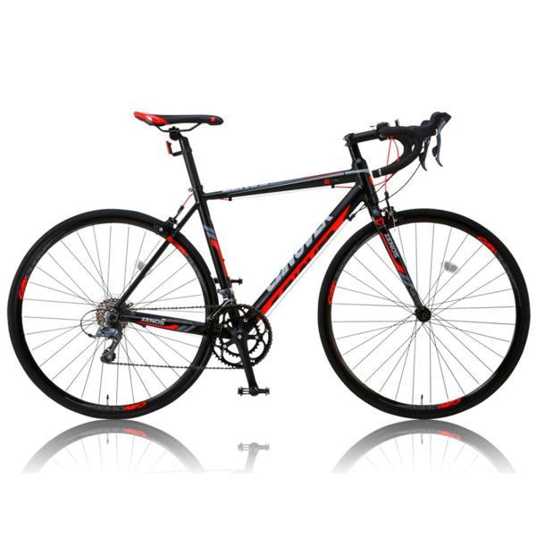 ロードバイク 自転車 完成品 700c デュアルコントロールレバー 16段変速 軽量 アルミ ライト付 CANOVER カノーバー CAR-011 ZENOS 完全組立|f-select|05