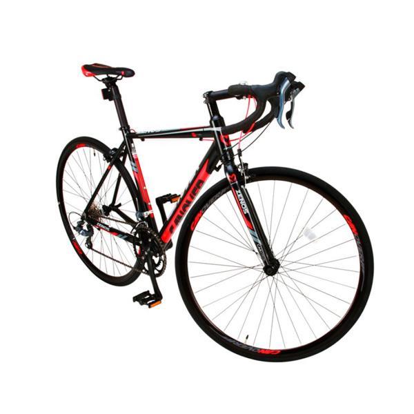 ロードバイク 自転車 完成品 700c デュアルコントロールレバー 16段変速 軽量 アルミ ライト付 CANOVER カノーバー CAR-011 ZENOS 完全組立|f-select|06