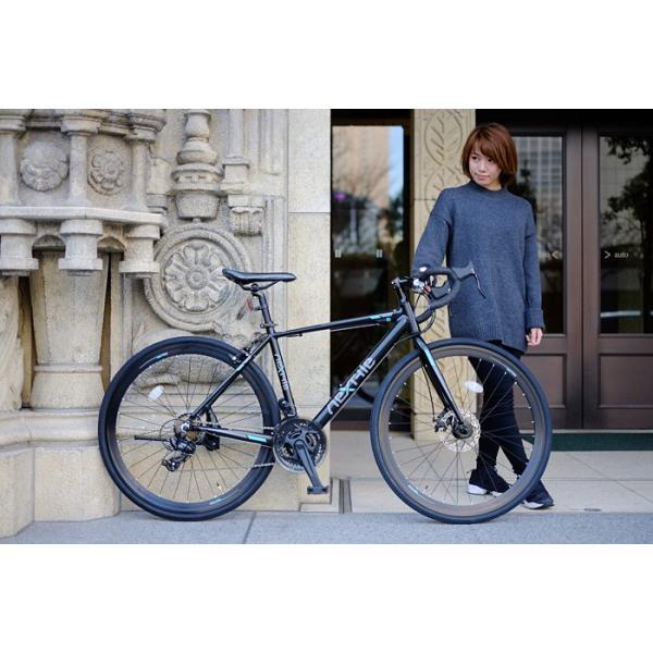 ロードバイク 700c 自転車 シマノ21段変速 軽量 アルミフレーム フロントディスクブレーキ NEXTYLE ネクスタイル RNX-7021-DC 組立必要品 f-select 02