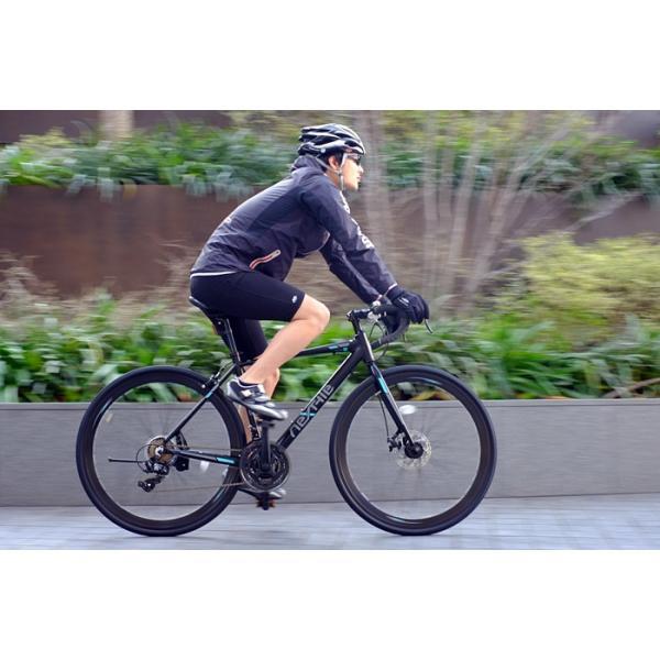 ロードバイク 700c 自転車 シマノ21段変速 軽量 アルミフレーム フロントディスクブレーキ NEXTYLE ネクスタイル RNX-7021-DC 組立必要品 f-select 03