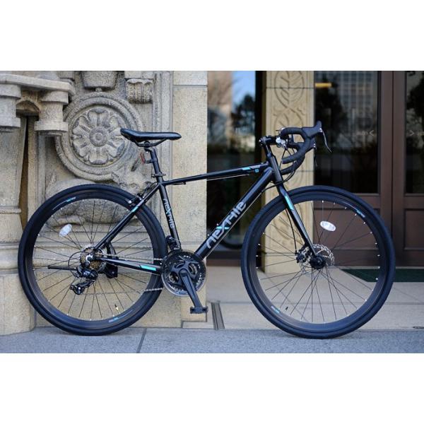 ロードバイク 700c 自転車 シマノ21段変速 軽量 アルミフレーム フロントディスクブレーキ NEXTYLE ネクスタイル RNX-7021-DC 組立必要品 f-select 08