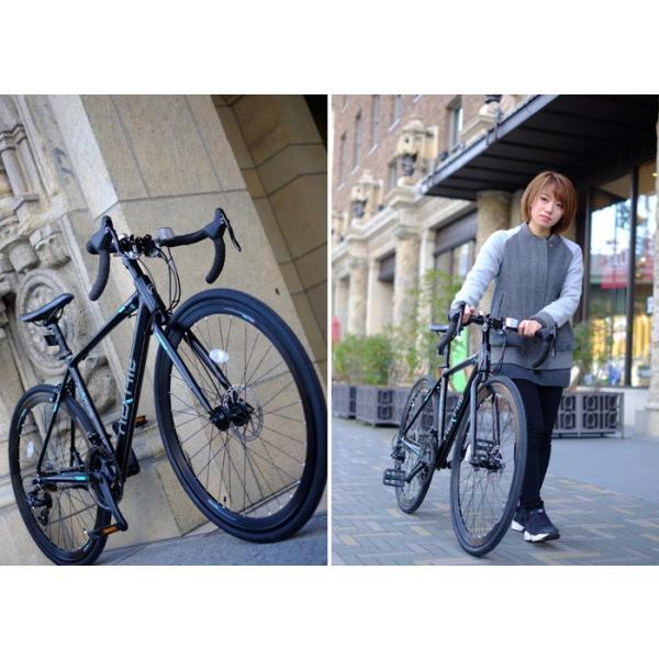 ロードバイク 700c 自転車 シマノ21段変速 軽量 アルミフレーム フロントディスクブレーキ NEXTYLE ネクスタイル RNX-7021-DC 組立必要品 f-select 09