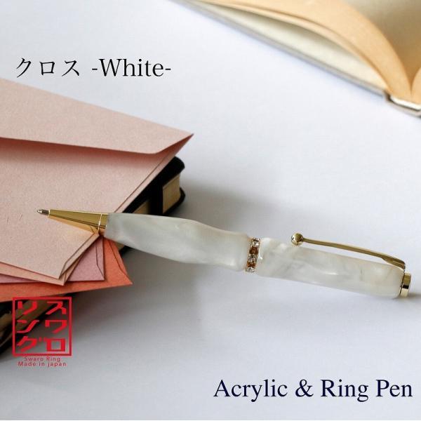 厳選した希少銘木から削り出した木目の美しいボールペン