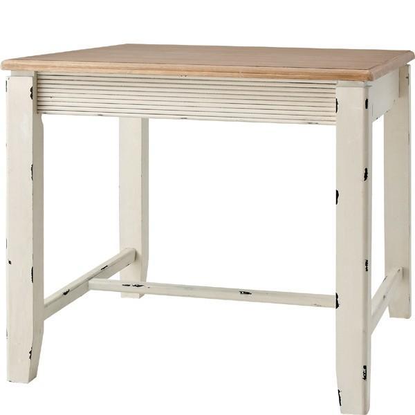 ダイニングテーブル 単品 ダイニング テーブル 天然木 木製 おしゃれ 作業台 食卓テーブル 2人用 2人掛け テーブル 幅80cm