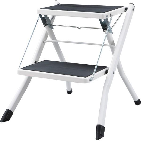 脚立 折りたたみ ステップ台 アシスタステップ スツール 踏み台 昇降運動 2段 折り畳み 折り畳み踏み台 台 はしご 階段 引越し