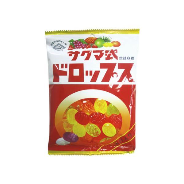 佐久間製菓 サクマ式ドロップスP 120g x6 *