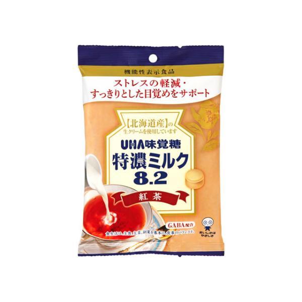 味覚糖 機能性表示 特濃ミルク8.2紅茶 93g ×6 *