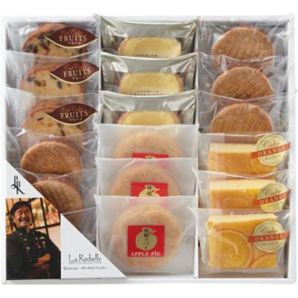 洋菓子18個入り 坂井宏行のこだわり洋菓子 ガレットブルトンヌ チーズタルト フルーツケーキ アップルパイ オレンジケーキ お菓子 贈り物