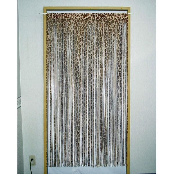 通気性抜群! ひものれん ジャガー 和のれん 暖簾 目隠し カーテン 間仕切り おしゃれ 82×170cm 和室 洋室