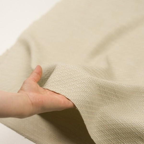 コットン×無地(グリーンミスト)×ファンシーツイード|fab-fabric|05