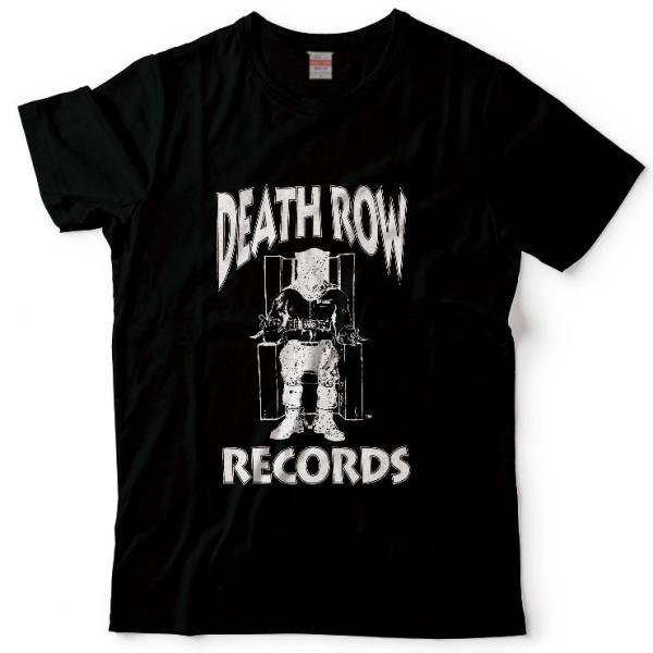 Tシャツ カットソー UNISEX Deathlow Record デスロウ レコード hiphop 西海岸 west 2pac  BEEF 抗争 ヒップホップ