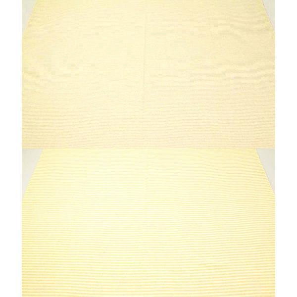 【10%OFF セール】生地 50cm単位 オーガニックコットン パイルボーダー R0529 布 ニット タオル VWTU|fabrichouseiseki|04