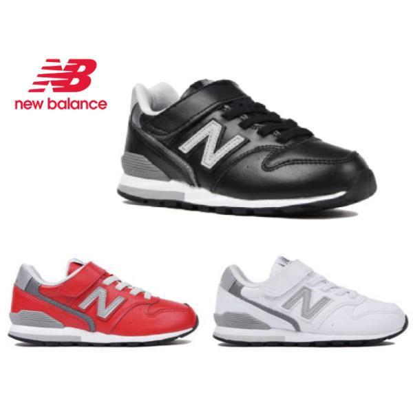 ニューバランスYV996LキッズジュニアブラックホワイトレッドBKWHRD子供靴スニーカー