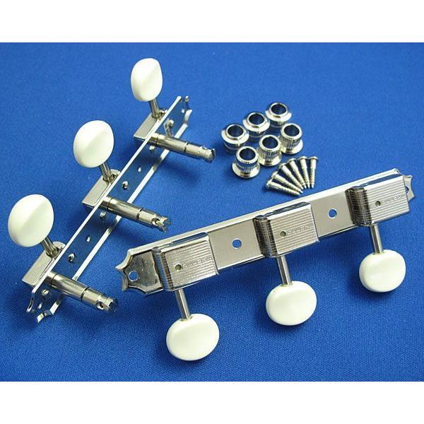 クルーソンタイプ3連ギターペグ/3SD-マグナムロック軸(ニッケル)|factorhythm|04