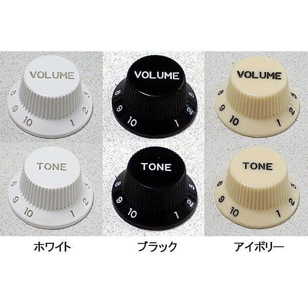 ギター用スピードノブ/ポットノブ(ミリサイズ)/KX240 VOLUME or TONE|factorhythm