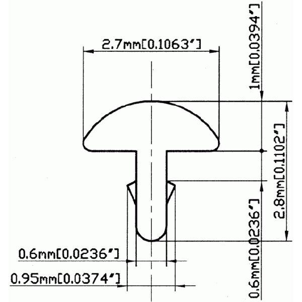 ギター&ベース用フレット(SL)/GF-SBB213 610mm/24inchカット×3本セット|factorhythm