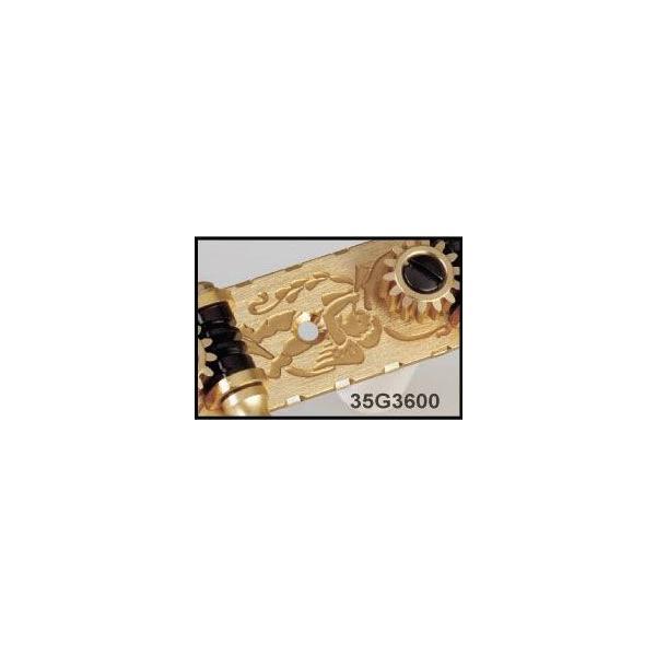 ゴトー【GOTOH】クラシックギターペグ 35P3600(フラッシュゴールド) ツマミ:2M/BB|factorhythm|03