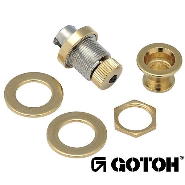 ゴトー【GOTOH】フリーロック ストラップピンEPR-2(クローム)|factorhythm