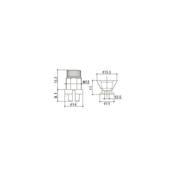 ゴトー【GOTOH】フリーロック ストラップピンEPR-2(クローム)|factorhythm|02