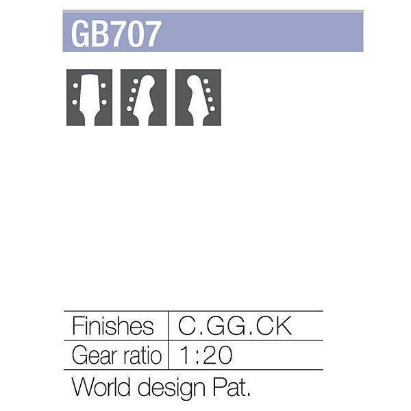 ゴトー【GOTOH】ベースペグ 4弦 GB707(コスモブラック)|factorhythm|03