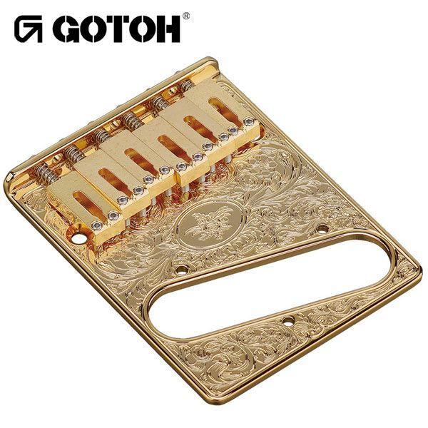ゴトー【GOTOH】アートコレクション テレキャスターブリッジGTC-Art-02(ブラッククローム)|factorhythm