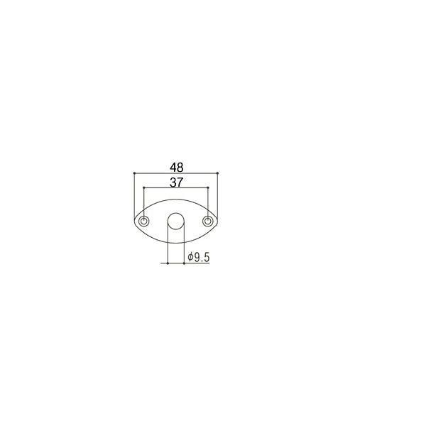 ゴトー【GOTOH】ジャックカバーJCB-2(コスモブラック)|factorhythm|02
