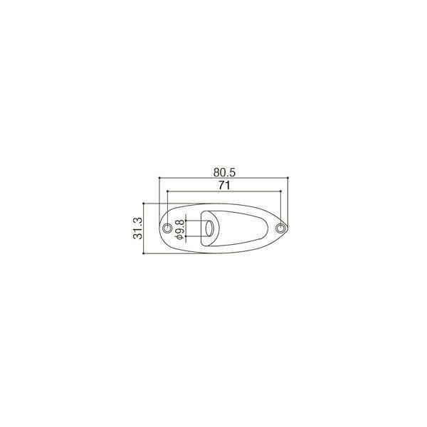 ゴトー【GOTOH】エイジド加工済「RELIC」ジャックカバーJCS-1|factorhythm|02