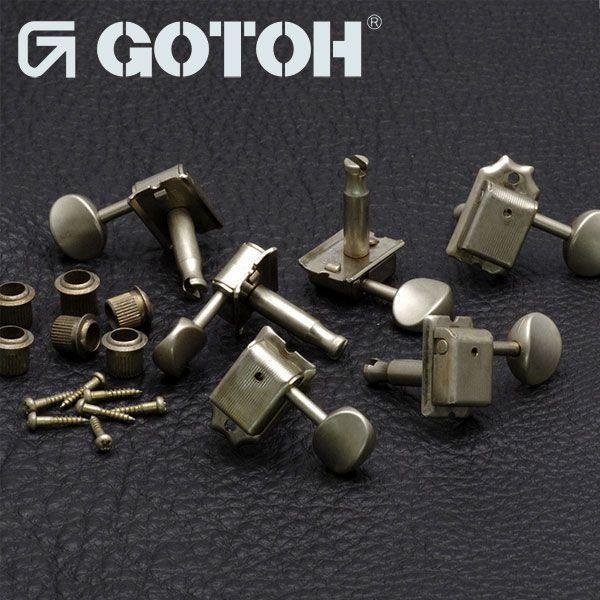 ゴトー【GOTOH】エイジド加工済「RELIC」クルーソンタイプ6連ギターペグSD91|factorhythm