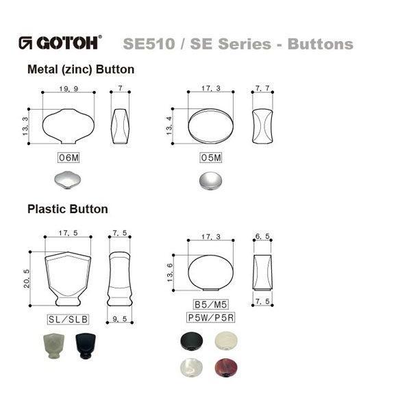 ゴトー【GOTOH】オープンタイプギターペグ SEP780(X-ニッケル) ツマミ:B5/M5|factorhythm|04